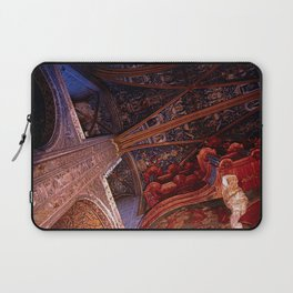 Looking Up - Albi Cathedral Laptop Sleeve
