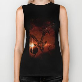 Capricorn-Ambitious, Sincere and Competitive Biker Tank