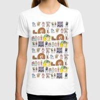 nintendo T-shirts featuring Nintendo Characters by Hamburger Hands