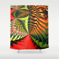 brasil Shower Curtains featuring Brasil by Lyle Hatch