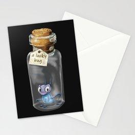 A lucky bug Stationery Cards