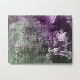 A GunShot In A Dark Alley Metal Print