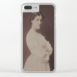 Charlotte Perkins Gilman Clear iPhone Case