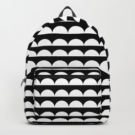BREE ((white on black)) Backpack