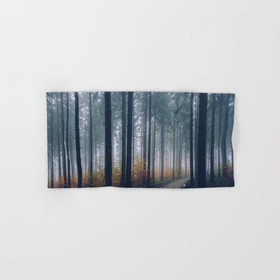 Into the woods #fog Hand & Bath Towel