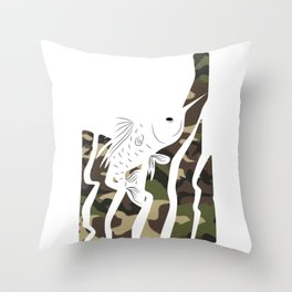 fisherman carp pike fishing fishing gift Throw Pillow