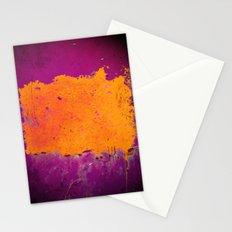 orange & purple Stationery Cards