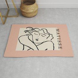 The sleeping lady- Henri Matisse Rug