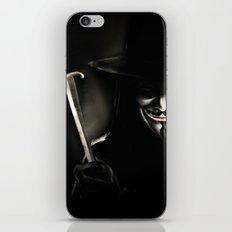 V for Vendetta (e5) iPhone & iPod Skin