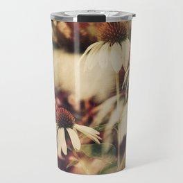 Cone Flowers (Cool) Travel Mug