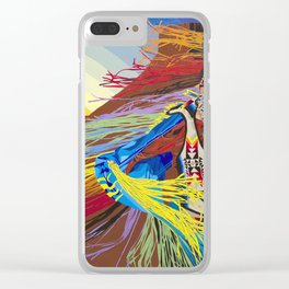 Lost in the Moment Clear iPhone Case
