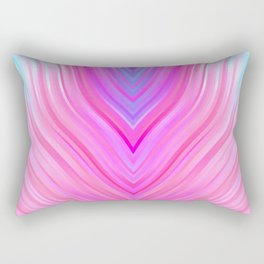 stripes wave pattern 3 c80i Rectangular Pillow