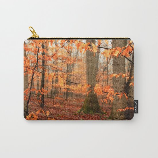 Mystic Autumn Forest Carry-All Pouch