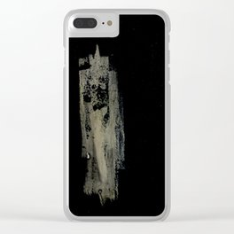 Single Woman Clear iPhone Case