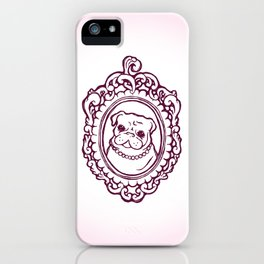 Pug Princess iPhone Case