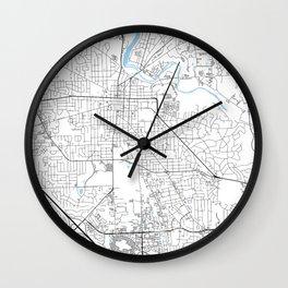 Ann Arbor, Michigan Wall Clock