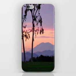 Saddleback Sunset iPhone Skin