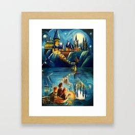 Magic at First Sight Framed Art Print