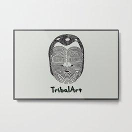TribalArt Metal Print