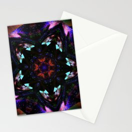 """""""Pentagram Reflections"""" by surrealpete Stationery Cards"""