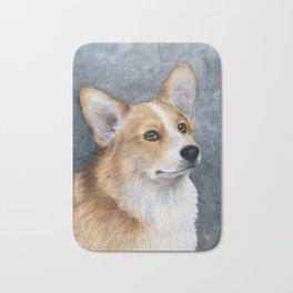 Corgi Dog Bath Mat