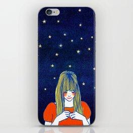 Girls in blue iPhone Skin