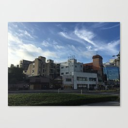 Japanese Architecture Canvas Print