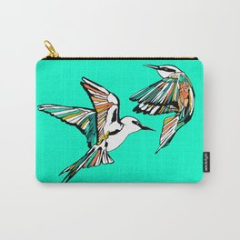 Dancing Rainbow Bee Eater Birds Carry-All Pouch