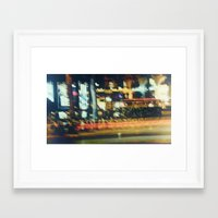 street Framed Art Prints featuring Street by Sébastien BOUVIER