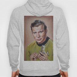 Captain Kirk - Portrait Painting Hoody