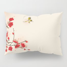 Oriental plum blossom in spring 011 Pillow Sham