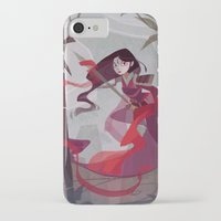 mulan iPhone & iPod Cases featuring Mulan by Ann Marcellino