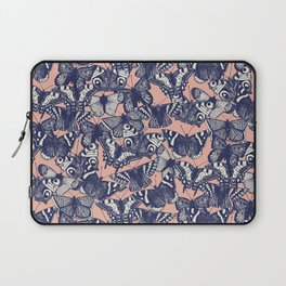 butterfly pale coral Laptop Sleeve