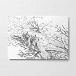 Grasp Metal Print