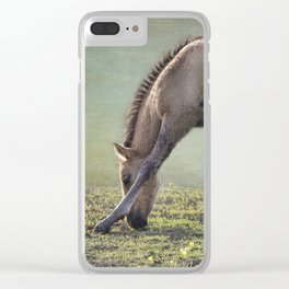 Bella's Filly and a Friend Clear iPhone Case