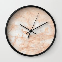 Paper Marble Texture Wall Clock