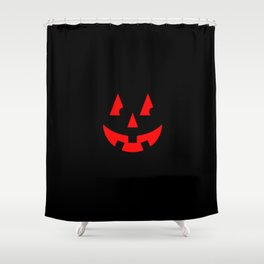 Black White Red Shower Curtains