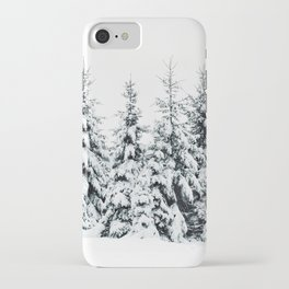 Snow Porn iPhone Case