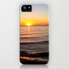 Sunset of a Lifetime iPhone Case
