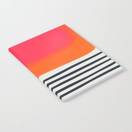 Sunset Ripples Notebook