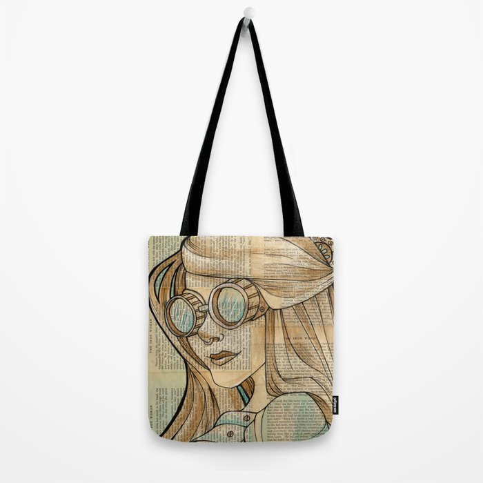 Iron Woman 1 Tote Bag