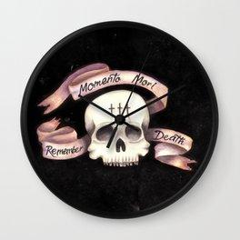 Momento Mori - Remember Death Wall Clock