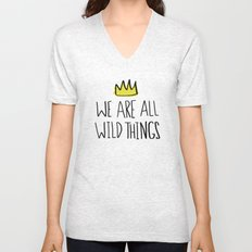 Wild Things Unisex V-Neck