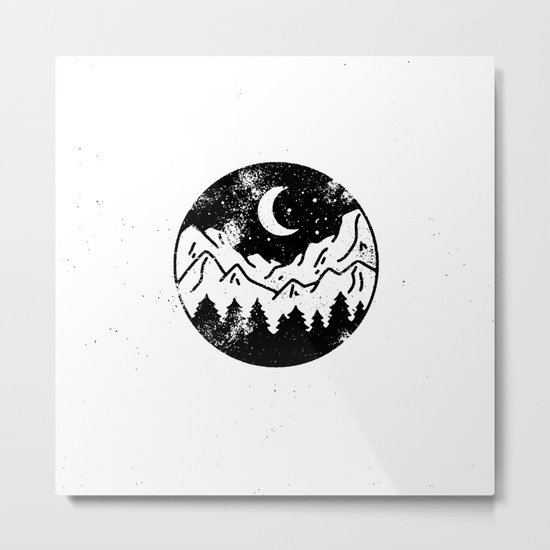 Night Metal Print