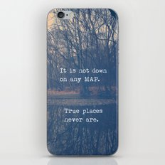 True Places iPhone & iPod Skin