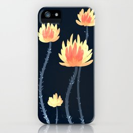 Fire Blossoms 04 iPhone Case