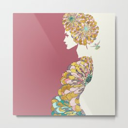 Inner Beauty Metal Print