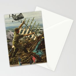 Marriage of Nationalist Security & Capitalist Democracy Stationery Cards