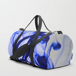 Blue Ink Duffle Bag