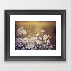 Reaching above the crowd Framed Art Print